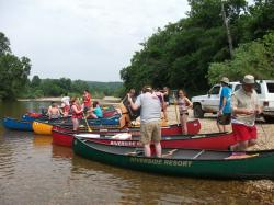 Group Canoe Trip